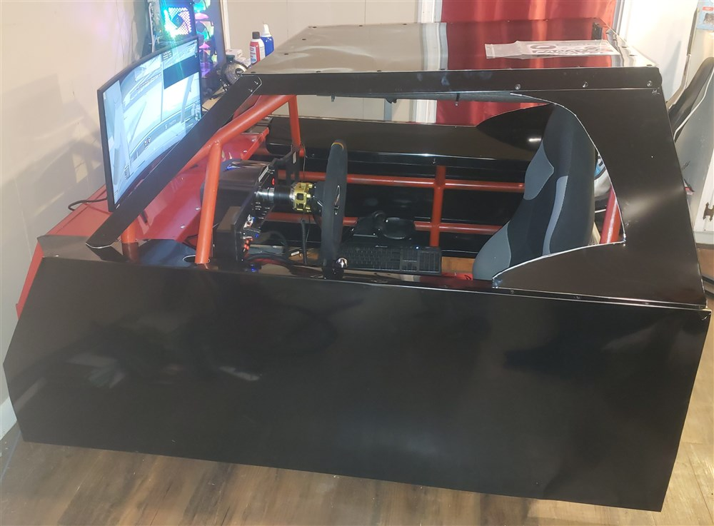 IRacing roll cage wrap in sheetmetal. thumbnail