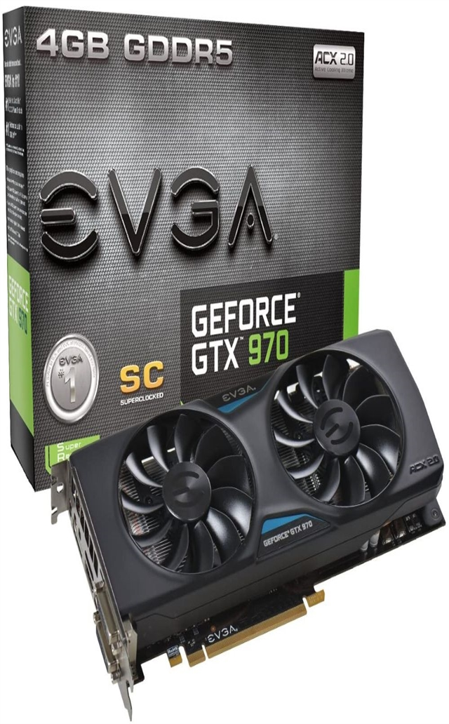 EVGA GeForce GTX 970 4GB SC GAMING ACX 2.0