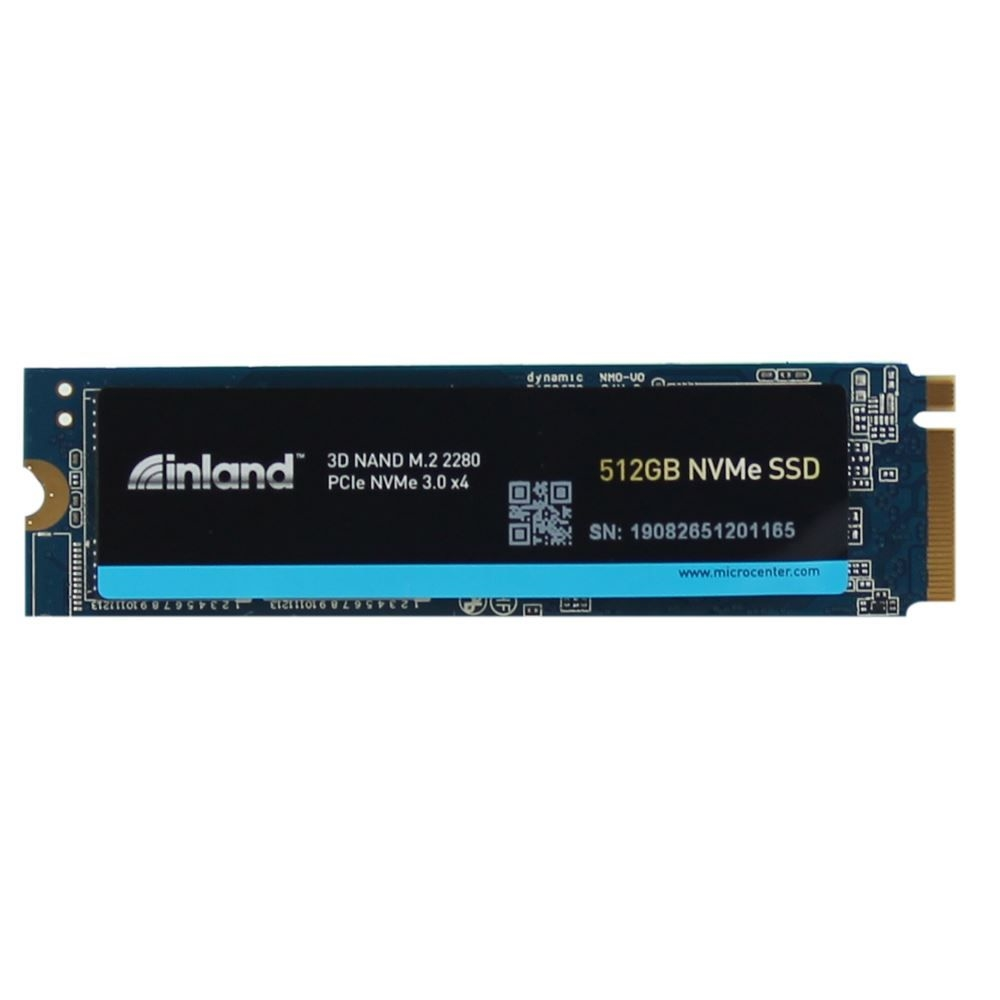 Inland Premium 512GB SSD 3D NAND M.2 2280 PCIe NVMe 3.0 x4 Internal Solid State Drive